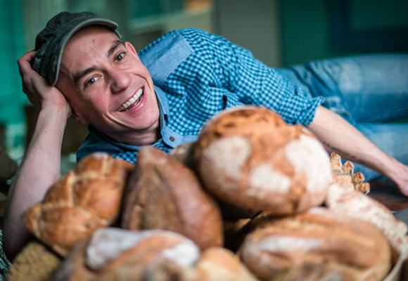Moncho Moreno ha puesto en marcha dos panaderías en Madrid