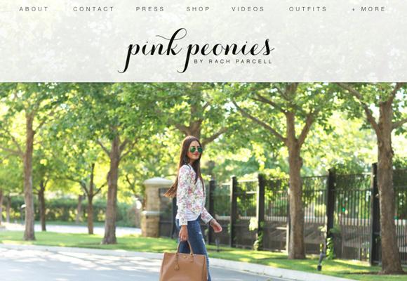 Pincha en la foto para comprar la colección de la blogger Pink Peonies para Nordstrom
