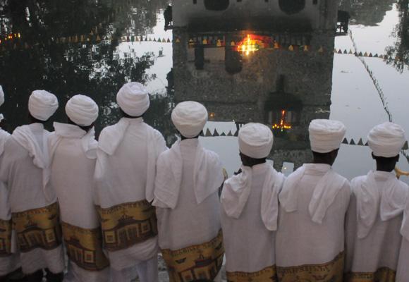La Epifanía es uno de los ritos que más turistas atrae en Etiopía