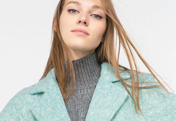 Abrigo Zara colección A/W 2015. Haz clic para comprar