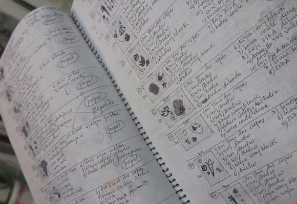 El artista es meticuloso a la hora de estudiar y catalogar su obra
