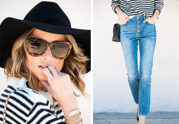 Celebrities de todo el mundo llevan sus cazadoras y sus jeans