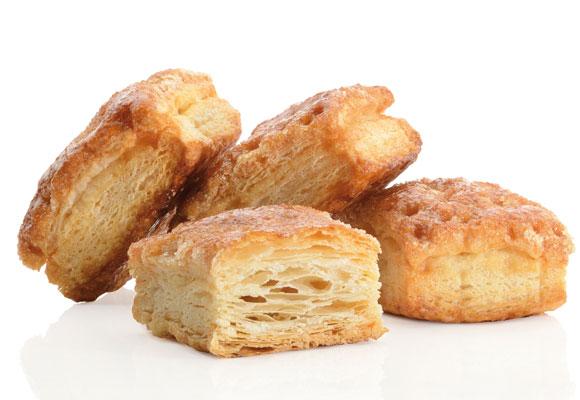 Además del pastel ruso, la pastelería Ascaso hace otras delicias como los Abades
