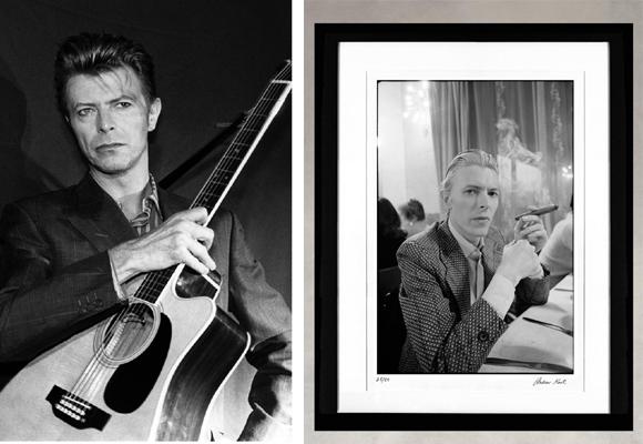 Pincha en la imagen para comprar la fotografía homenaje a Bowie