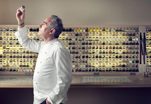 Ferrán Adriá, creador de El Bulli y de la cocina para los sentidos