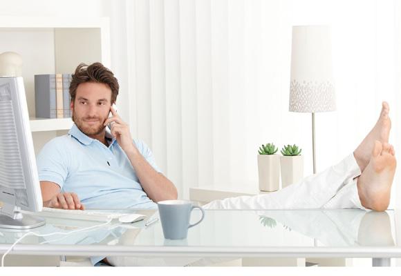 Trabajar desde casa, cada vez más habitual en muchos países europeos
