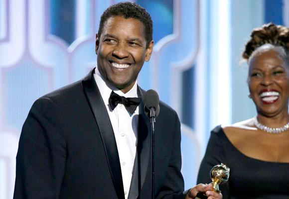 Denzel Washington protagonizó uno de los momentos más entrañables de la noche