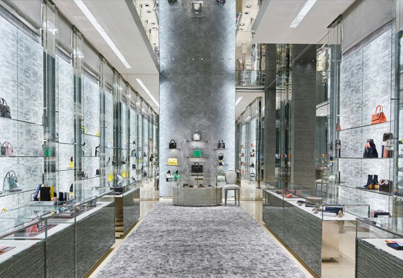 La boutique es la más exclusiva de China continental