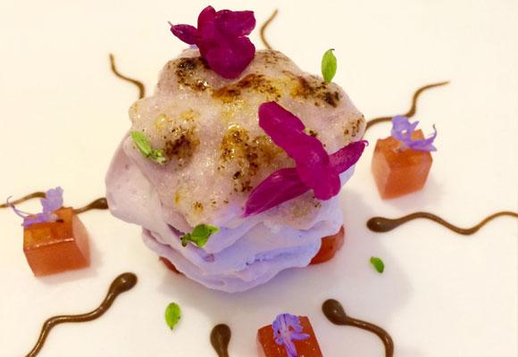 Original y delicioso Pastel de Violeta made in David Muñoz