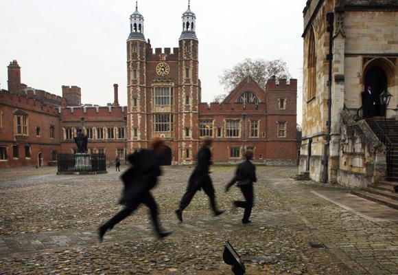 Entre los colegios más exclusivos se encuentra Eton, donde también se formó el primer ministro Cameron