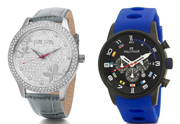 Reloj mariposa (compra aquí) y reloj deportivo (compra aquí). Los dos de Folli Follie