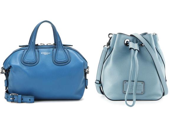 En azulón de Givenchy y judía de Marc Jacobs. Perfectos para working girls. Pincha para comprar