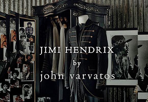 Colección Jimi Hendrix by John Varvatos