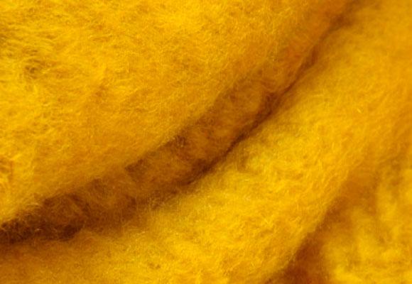 El mohair es un material gustoso e idóneo para la fabricación de mantas
