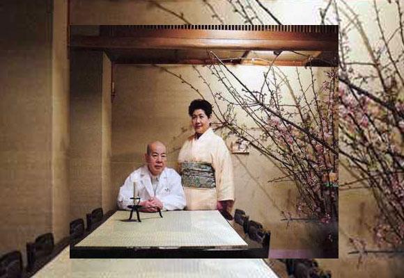 El matrimonio Ishida regentan el restaurante Mibu en Tokio