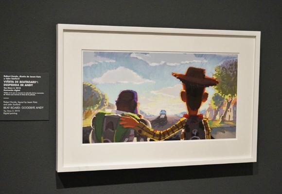 La muestra sobre Pixar fue la más visitada del año pasado