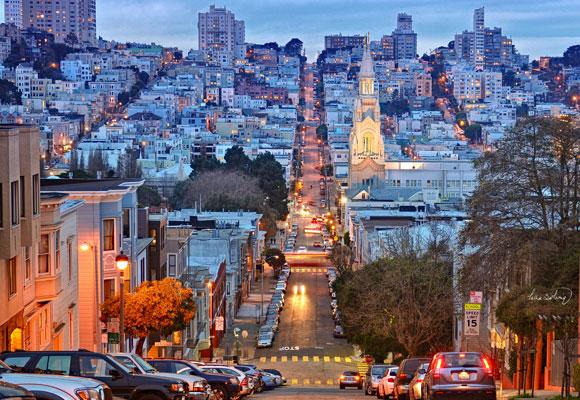 San Francisco es un lugar especial para terminar el viaje