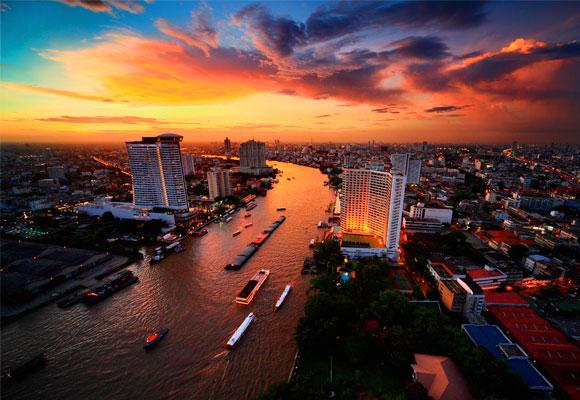 Bangkok es un conglomerado de experiencias, sabores y colores