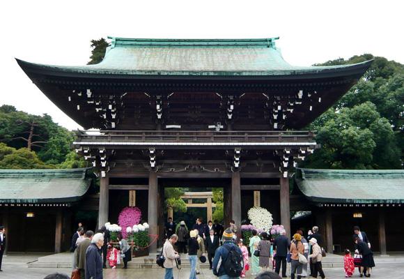 El Santuario Meiji, situado en Shibuya, es todo un espectáculo natural