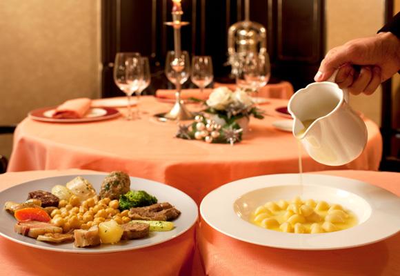El arte de disfrutar de una comida en el restaurante Vía Veneto de Barcelona