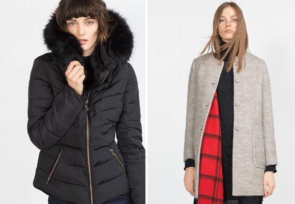 Abrigos Zara colección A/W 2015. Haz clic para comprarlos