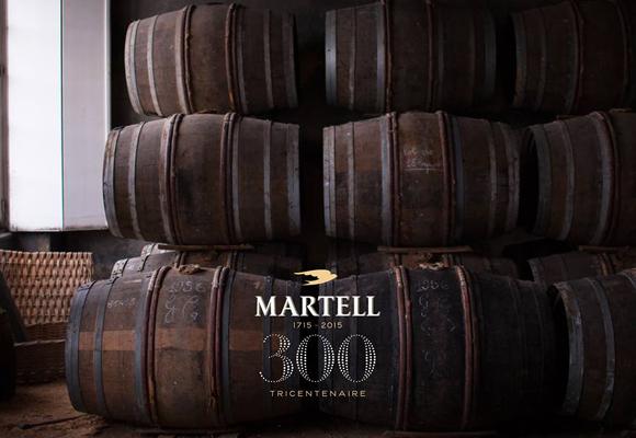 Cognac Martell, 300 años de historia