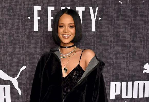 Rihanna presentó su colección para PUMA en NY