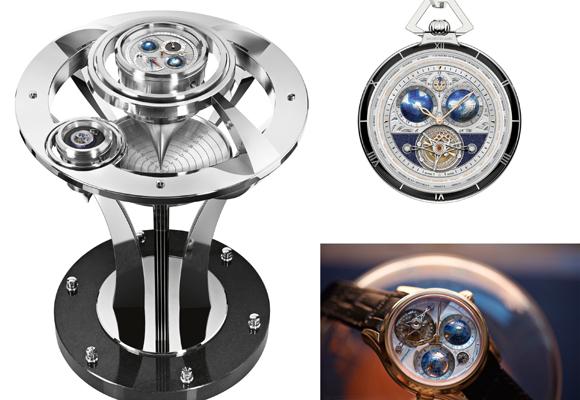 Montblanc Collection Tourbillon Cylindrique Pocket Watch 110 Years Edition. Pincha para comprar