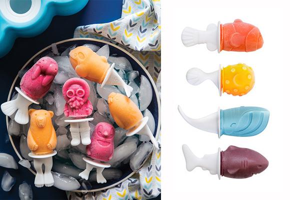 Los peques harán polos helados con esta herramienta de Zoku. Compra aquí