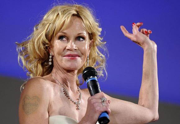 Melanie Griffith, otra de las famosas que han pasado por el quirófano para mejorar su rostro