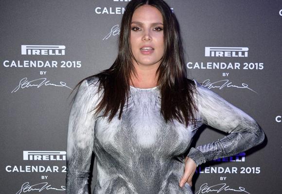 Candice Huffine fue la primera modelo curvy en aparecer en el mítico Calendario Pirelli