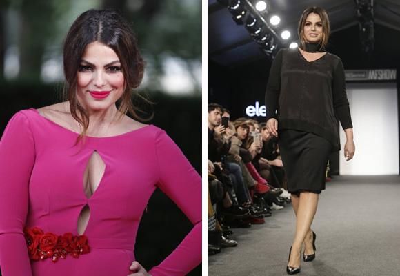 Marisa Jara, la modelo sevillana es habitual en los desfiles de marcas plus size en nuestro país