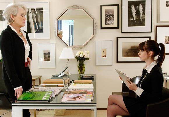 Meryl Streep protagoniza 'El diablo se viste de Prada'