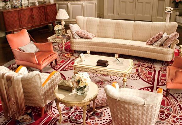 Así sería nuestro salón ideal Años 20