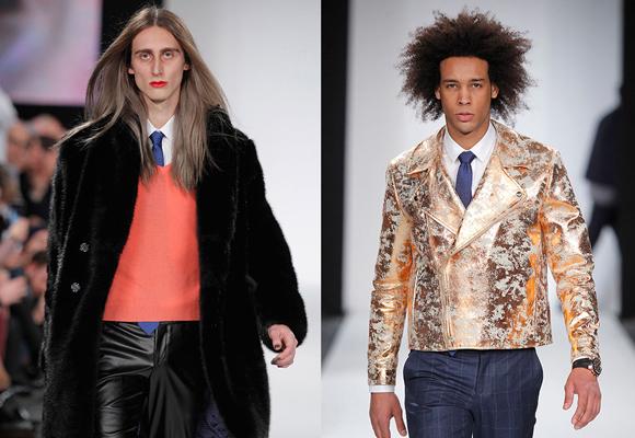 Pana, brillos, terciopelo y abrigos en pelo. Esta es la propuesta más rompedora de García Madrid