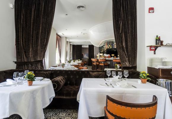 Sala comedor de Higinio's en Madrid