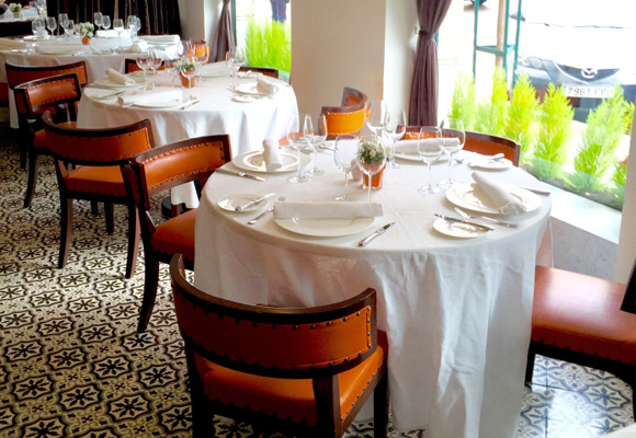 El restaurante se encuentra en el Barrio de Salamanca