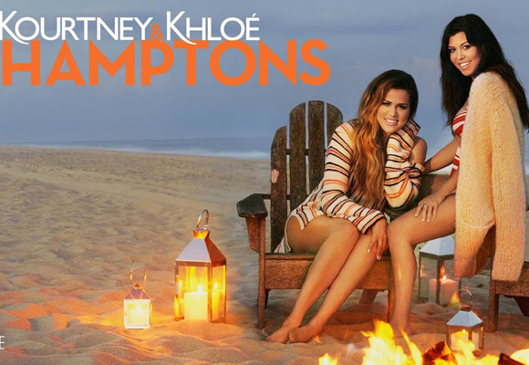 'Kourtney & Khloé take the Hamptons', el último reality de las hermanas
