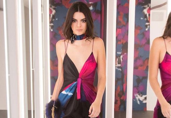Kendall Jenner fue una de las tops en el desfile de Von Fürstenberg en NY
