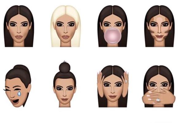 Los emojis de Kim Kardashian han colapsado las redes