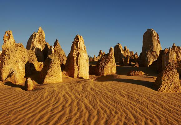 The Pinnacles, un espectáculo de la naturaleza