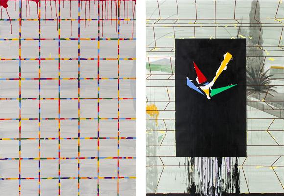 Geometrías y colores vivos, la apuesta de Miki Leal