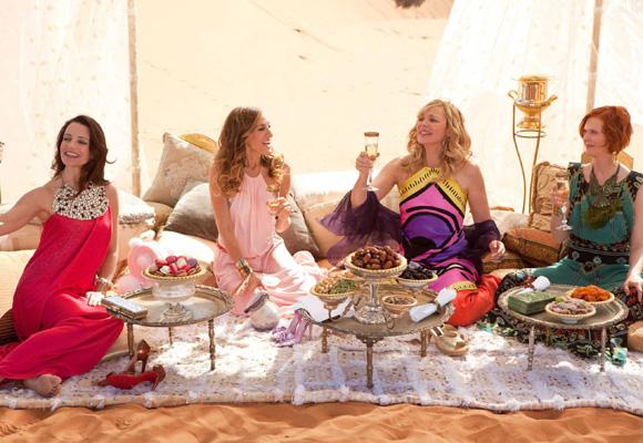 Las cuatro mujeres más fashion del mundo de la tele... y del cine