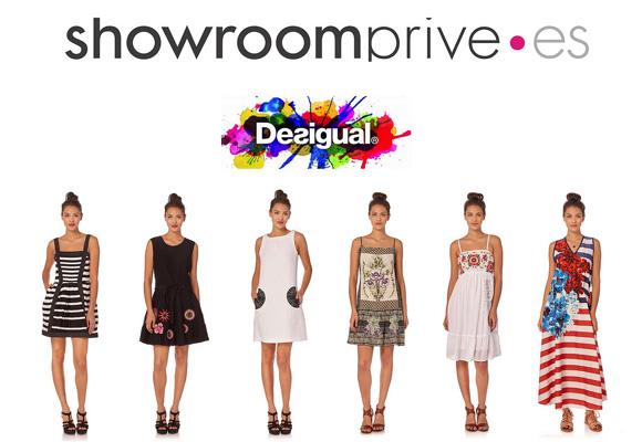 Aquí puedes comprar las prendas de la firma Desigual en Showroomprive