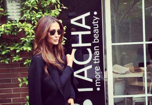Vicky Martín Berrocal, entre las fans de Tacha Beauty