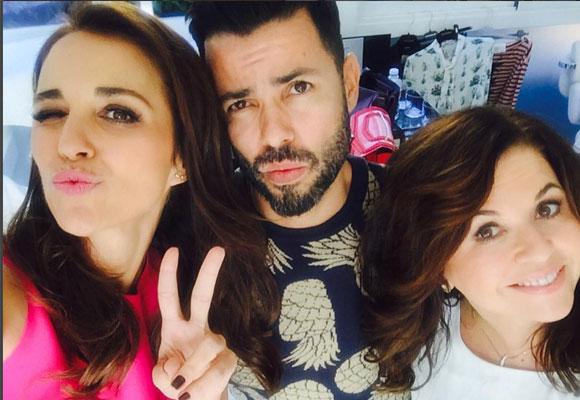 Divertida imagen de Paula Echevarría con Natalia de la Vega