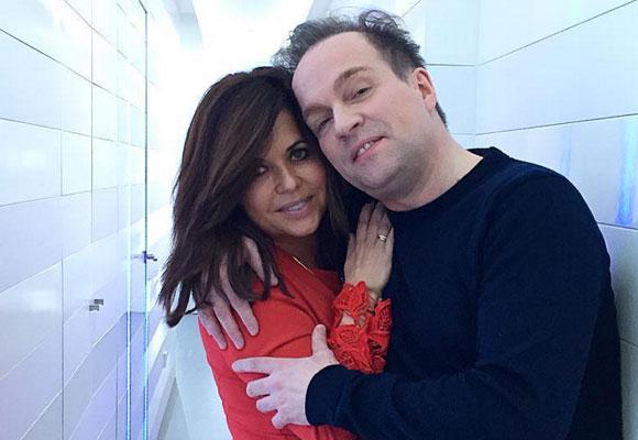 Natalia de la Vega con Hervé Herau, del que se hacen tratamientos en Tacha