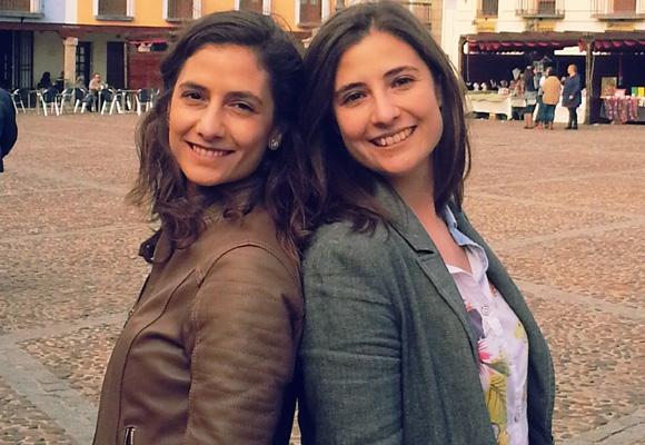 Ana y Estefanía Olmos son las promotoras de esta particular agencia de viajes