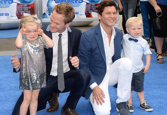 Los preciosos hijos de Neil Patrick Harris y su marido