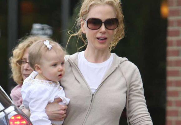 Nicole Kidman también tuvo a su última hija con un vientre subrogado
